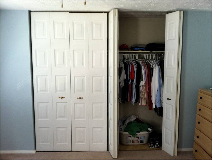 Ordinaire Images Of Closet Bifold Door