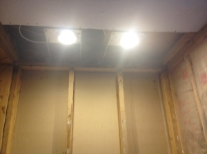 Working recessed lights!