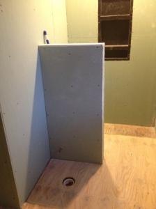 Drywall up!