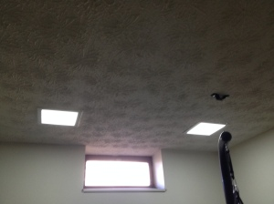 Ceiling and lights in room #2
