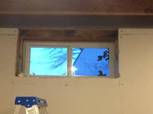 New window - nice, clean, and easy to open!