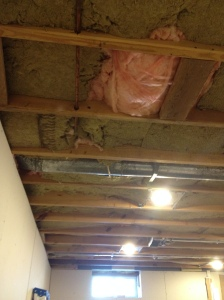 "The ""Safe and Sound"" insulation in the ceiling"