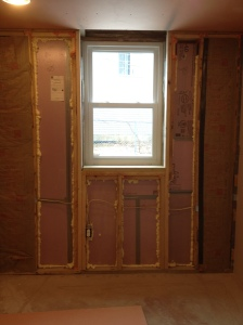 After the amazing framing job - looks like a pretty fine window to me!