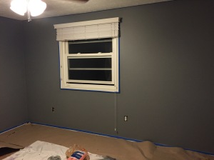 The final paint job! A beautiful grey!