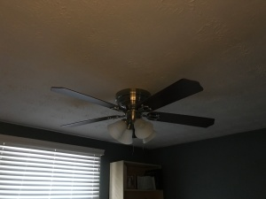 Same fan with the lights off!